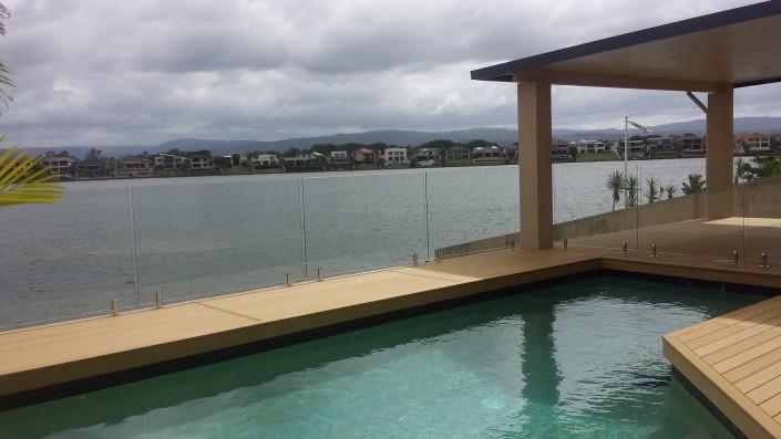 Frameless Pool Fencing Gold Coast