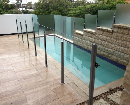 Semi Frameless Pool Fencing Brisbane Gold Coast All Glass Aluminium Fencing